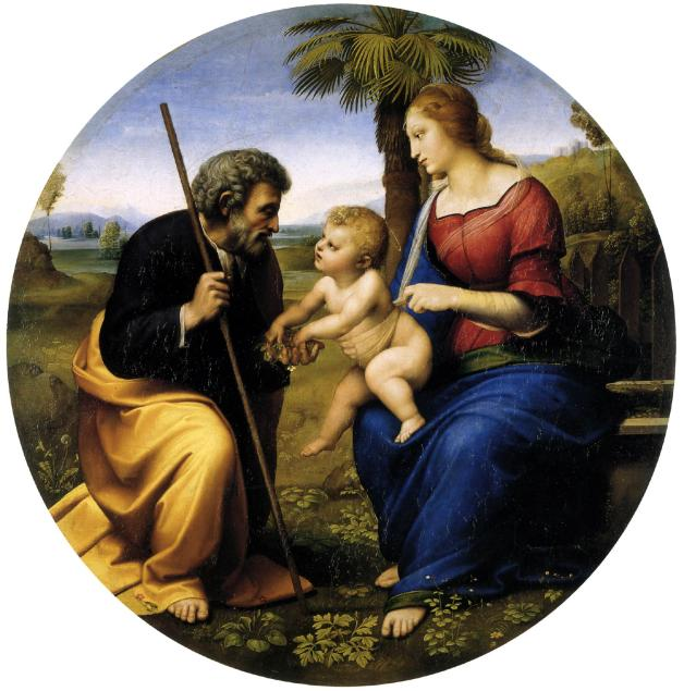 Raphael_The_Holy_Family_with_a_Palm_Tree